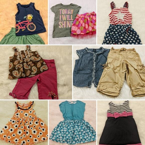 Girls 4t Summer Clothing